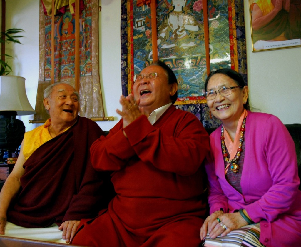 Sogyal Rinpoche & friends